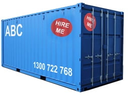 View our container hire page